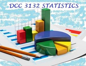 DCC3132 Statistics